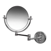Valsan Classic Traditional Wall Mounted Magnifying Mirror x3 - Chrome