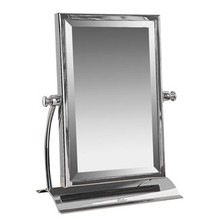 Valsan Classic Freestanding Single Sided Table Mirror - Chrome
