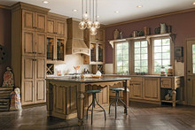 Kraftmaid Kitchen Cabinets -  Marquette Maple Roman