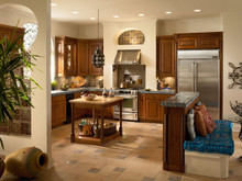 Kraftmaid Kitchen Cabinets -  Square Recessed Panel - Thermofoil (WP) Thermofoil in White