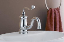 Cheviot  5291-AB Thames Single Hole Lavatory Faucet  - Antique Bronze