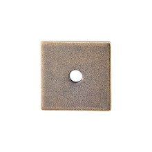 "Top Knobs  TK94GBZ Sanctuary Square Backplate 1"" - German Bronze"