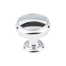 "Top Knobs  TK832PC Serene Eden Large Door Knob - 1 3/8"" - Polished Chrome"