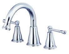 Danze D300915T Eastham Two Handle Roman Tub Faucet Trim - Polished Chrome