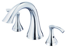 Danze D300922T Antioch Two Handle Roman Tub Faucet Trim - Polished Chrome