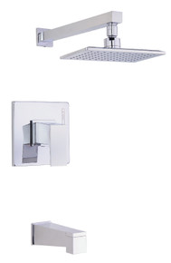 Danze D502062T Mid-town Single Handle Tub & Shower Faucet Trim 2.0 Gpm - Chrome