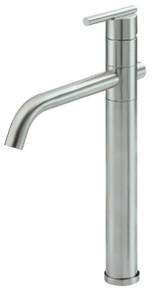 Danze D225158BN Parma Single Handle Vessel Filler Faucet 1.2gpm - Brushed Nickel
