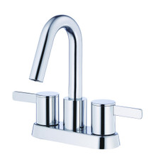 Danze D301130 Amalfi Two Handle Centerset Lavatory Faucet 1.2gpm - Chrome