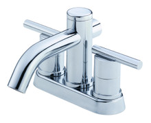 Danze D301158 Parma Two Handle Centerset Lavatory Faucet 1.2gpm - Chrome