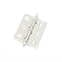 Schaub 1111B-PN Ball Tip Mortise Hinge - Polished Nickel