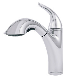 Danze D455121 Antioch Single Handle Pull Out Spray Kitchen Faucet - Chrome