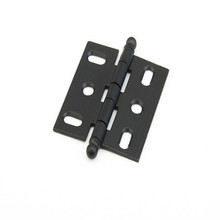 Schaub 1111B-FB Ball Tip Mortise Hinge - Flat Black