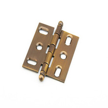Schaub 1111B-AB Ball Tip Mortise Hinge - Antique Brass