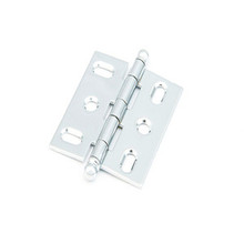 Schaub 1111B-26 Ball Tip Mortise Hinge - Polished Chrome