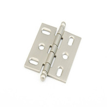 Schaub 1111B-15 Ball Tip Mortise Hinge - Satin Nickel
