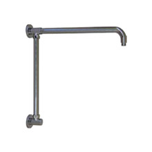 "Opella Vertical Riser with 17"" Shower Arm - Chrome"