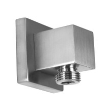 Opella 201.775 Square Wall Supply Elbow - Brushed Nickel