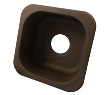 "Opella 12"" x 12"" Undermount Or Drop-In Bar Sink - Oil Rubbed Bronze (PVD)"