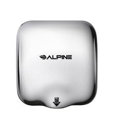 Alpine  Hemlock Chrome  Automatic High Speed Commercial Hand Dryer 110/120V