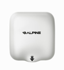 Alpine  Hemlock White Automatic High Speed Commercial Hand Dryer 110/120V