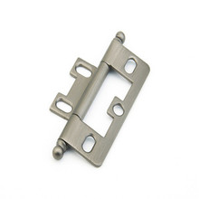Schaub 1100B-AN Ball Tip Non-Mortise Hinge - Antique Nickel