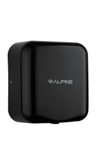 Alpine Hemlock Black Automatic High Speed Commercial Hand Dryer 110/120V