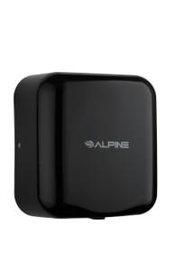 Alpine Hemlock Black Automatic High Speed Commercial Hand Dryer 110/120V
