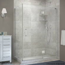 DreamLine  E32330R-01 Unidoor-X 47-3/8 in. W x 30 in. D x 72 in. H Hinged Shower Enclosure in Chrome Finish; Right-wall Bracket