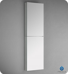 "Fresca  FMC8030 52"" Tall Bathroom Medicine Cabinet w Mirrors"