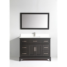 Vanity Art VA1048E 48-Inch Single-Sink Bathroom Vanity Set With Phoenix Stone Vanity Top - Espresso