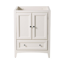 "Fresca  FCB2024AW Fresca Oxford 24"" Antique White Traditional Bathroom Cabinet"