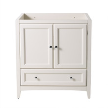 "Fresca  FCB2030AW Fresca Oxford 30"" Antique White Traditional Bathroom Cabinet"