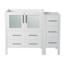 "Fresca  FCB62-3012WH Fresca Torino 42"" White Modern Bathroom Cabinet"