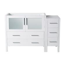 "Fresca  FCB62-3612WH Fresca Torino 48"" White Modern Bathroom Cabinets"
