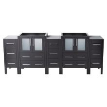 """Fresca  FCB62-72ES Fresca Torino 72"""" Espresso Modern Bathroom Cabinets"""