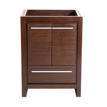 "Fresca  FCB8125WG Fresca Allier 24"" Wenge Brown Modern Bathroom Cabinet"