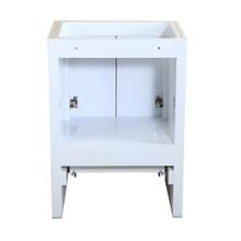 """Fresca  FCB8125WH Fresca Allier 24"""" White Modern Bathroom Cabinet"""