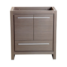 "Fresca  FCB8130GO Fresca Allier 30"" Gray Oak Modern Bathroom Cabinet"
