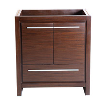 "Fresca  FCB8130WG Fresca Allier 30"" Wenge Brown Modern Bathroom Cabinet"