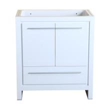 """Fresca  FCB8130WH Fresca Allier 30"""" White Modern Bathroom Cabinet"""