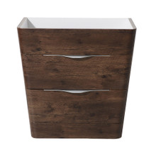 """Fresca  FCB8532RW Fresca Milano 32"""" Rosewood Modern Bathroom Cabinet"""
