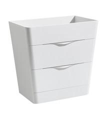 "FCB8532WH Fresca Milano 32"" Glossy White Modern Bathroom Cabinet"