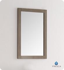 """FMR2301SA Fresca Greenwich 20"""" Antique Silver Traditional Bathroom Mirror"""