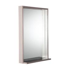 "FMR8125GO Fresca Allier 22"" Gray Oak Mirror with Shelf"