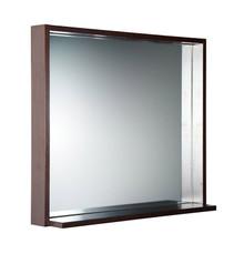 "FMR8136WG Fresca Allier 36"" Wenge Mirror with Shelf"