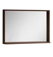 "FMR8140WG Fresca Allier 40"" Wenge Mirror with Shelf"