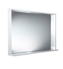 """FMR8140WH Fresca Allier 40"""" White Mirror with Shelf"""