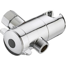 Mountain Plumbing MT19-PN Handshower to Shower - Showerarm Mount with Diverter - Polished Nickel