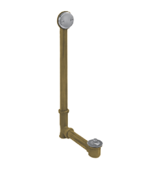 Mountain Plumbing HBDWLT45-TB Economy Lift & Turn Style Bath Waste and Overflow Drain - Tuscan Brass