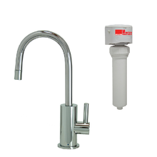 Mountain Plumbing MT1843FIL-NL-PVDBRN Point-of-Use Drinking Faucet With Water Filtration System - PVD Brushed Nickel